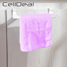 Rail-Organizer Hanger Shelf Towel-Rack Sponge-Holder Cabinet Cupboard Over-Door Bathroom