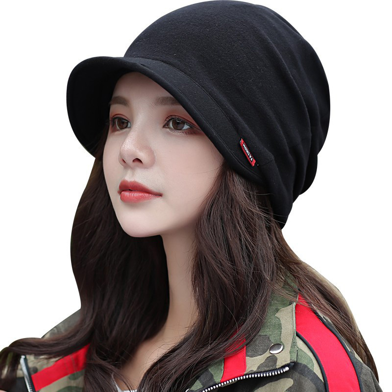 New Knitted Hat Women's Autumn And Winter Haed Cap Fashion Solid Color Outdoor Windproof Keep Warm Thicken Knitted Hats TG0139