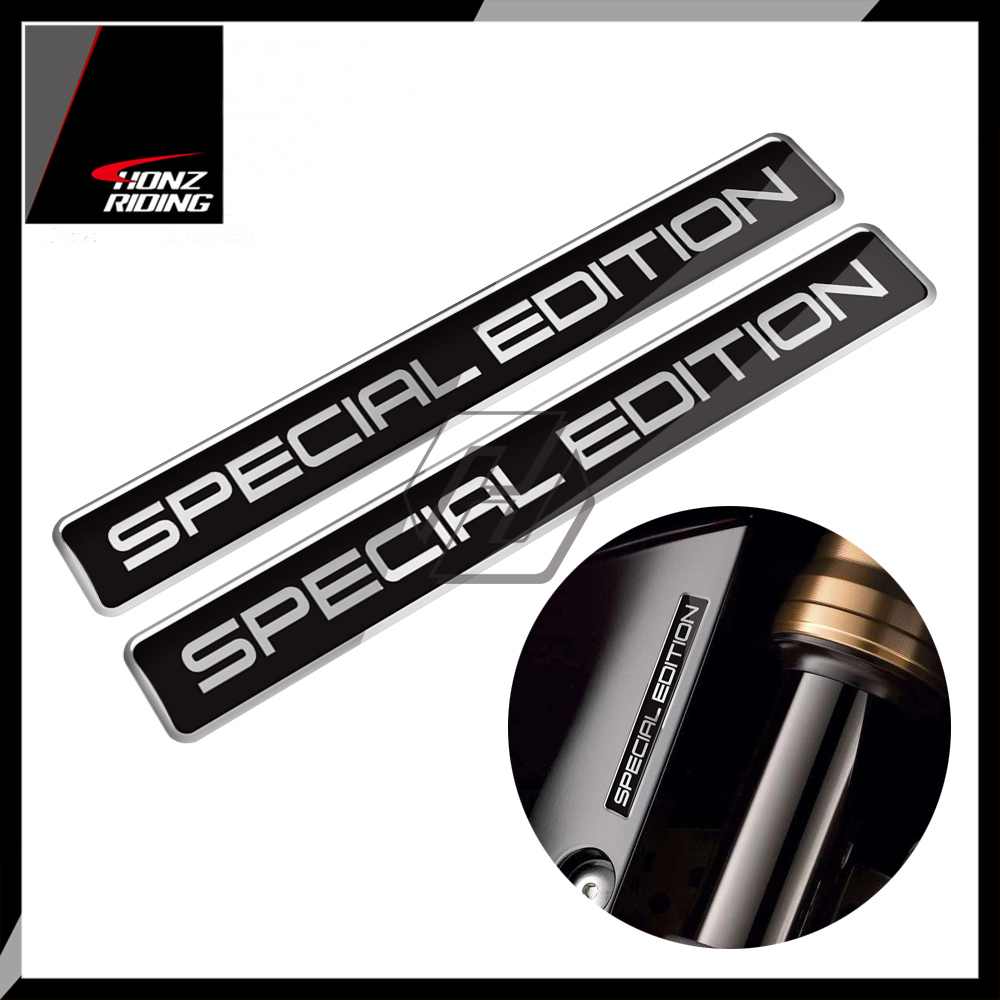 For BMW Suzuki Aprilia Ducati Triumph Yamaha For Harley Sticker 3D Special Edition Sticker