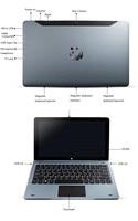 11.6 Inch NC01 Windows 10 Tablet PC 4GB RAM 128GB ROM With Pin Docking Keyboard Quad Core   4.0 1920*1080 IPS 2