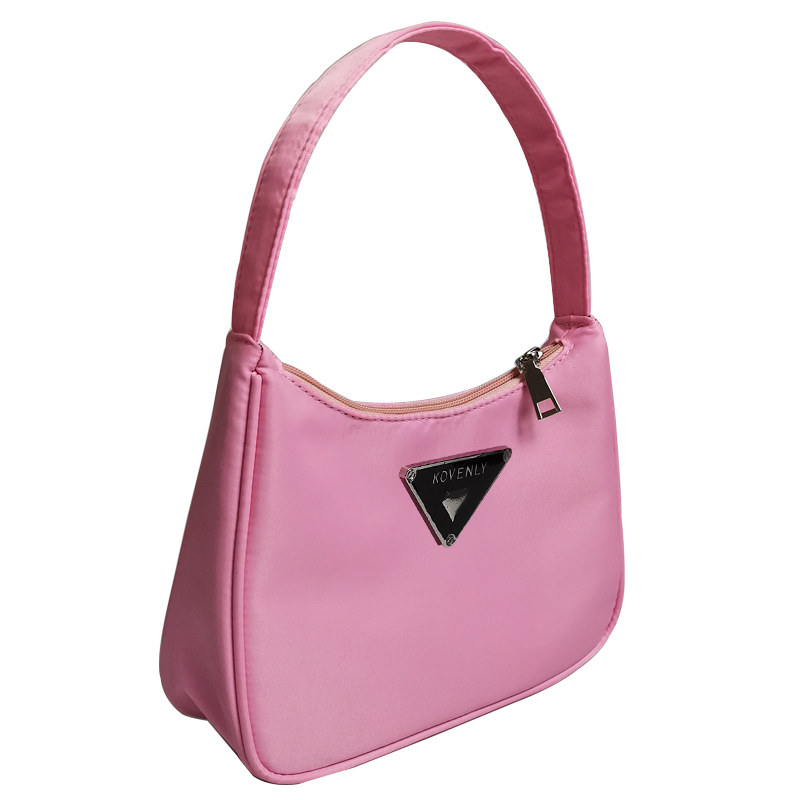 Retro Shoulder Bag For Women Trendy Vintage Nylon Handbag Female Small Subaxillary Bags Casual Retro Mini Shoulder Bag Bella 180 7