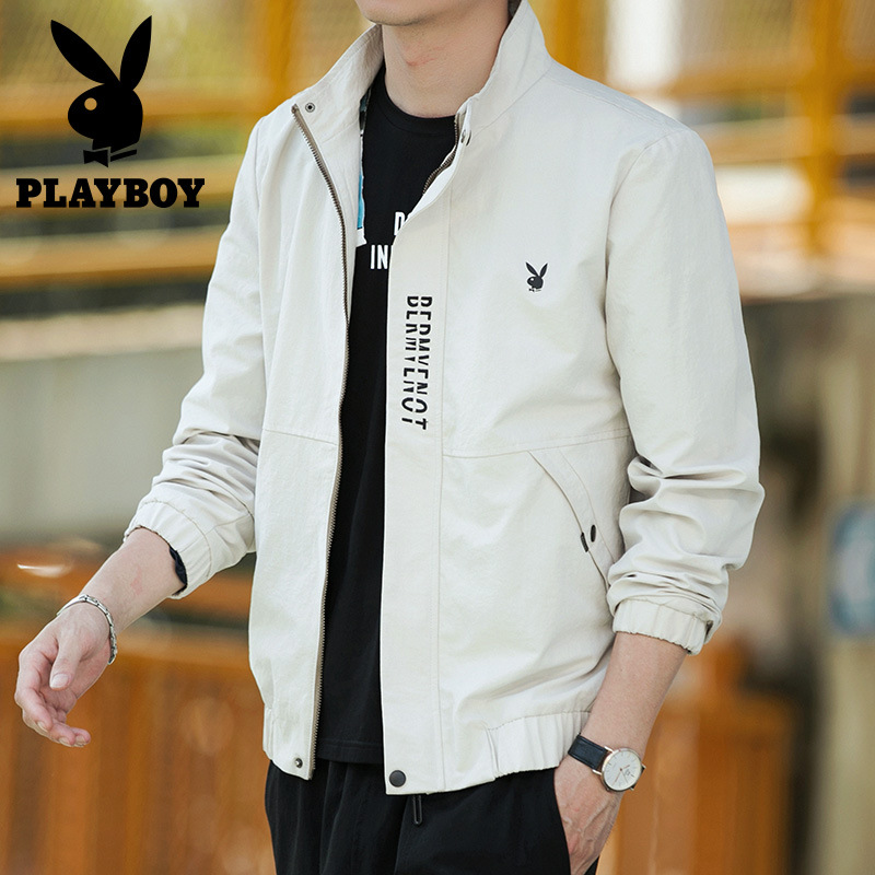Jacket MEN'S Outerwear Autumn New Style Korean-style MEN'S Jacket Casual Sports Men'S Wear Casual Stand Collar Men Jacket