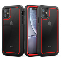 Antiurto Armatura Cassa Del Telefono Per il iPhone 12 Trasparente ibrido Della Copertura di TPU Per il iPhone XR XS MAX 11 Pro Max 8 7 6 più SE Chiaro Caso