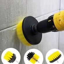 Escova de broca todos os fins limpador esfregando escovas para a superfície do banheiro grout telha banheira chuveiro cozinha ferramentas limpeza do cuidado automático