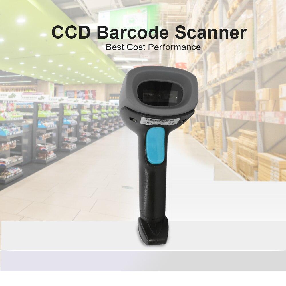 Niska cena skaner kodów kreskowych czujnik ccd dla 1D kod kreskowy w sklep detaliczny sklep magazyn wysokiej prędkości bez oprogramowania sterownika