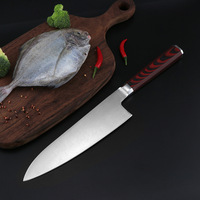 Kitchen kitchen knife high carbon steel 7CR17MOV meat cutting bone cutting single knife vegetable cutting household knife