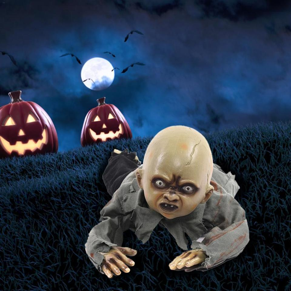 Halloween Decorations Crawling Ghosts Called BB Ghost