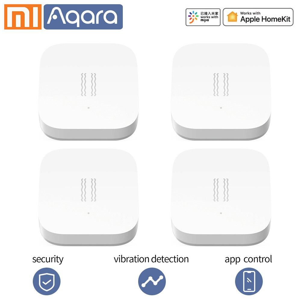Aqara, датчик вибрации, датчик удара, умный датчик движения, датчик вибрации, сигнализация, монитор, zigbee mi, домашнее приложение, xiaomi, умный дом