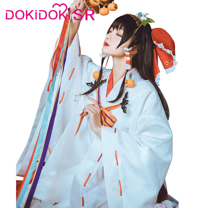 DokiDoki-SR Game/Anime Copslay Touhou Project Hakurei Reimu Costume Women Kimono Halloween Costume Anime Cosplay Halloween 2