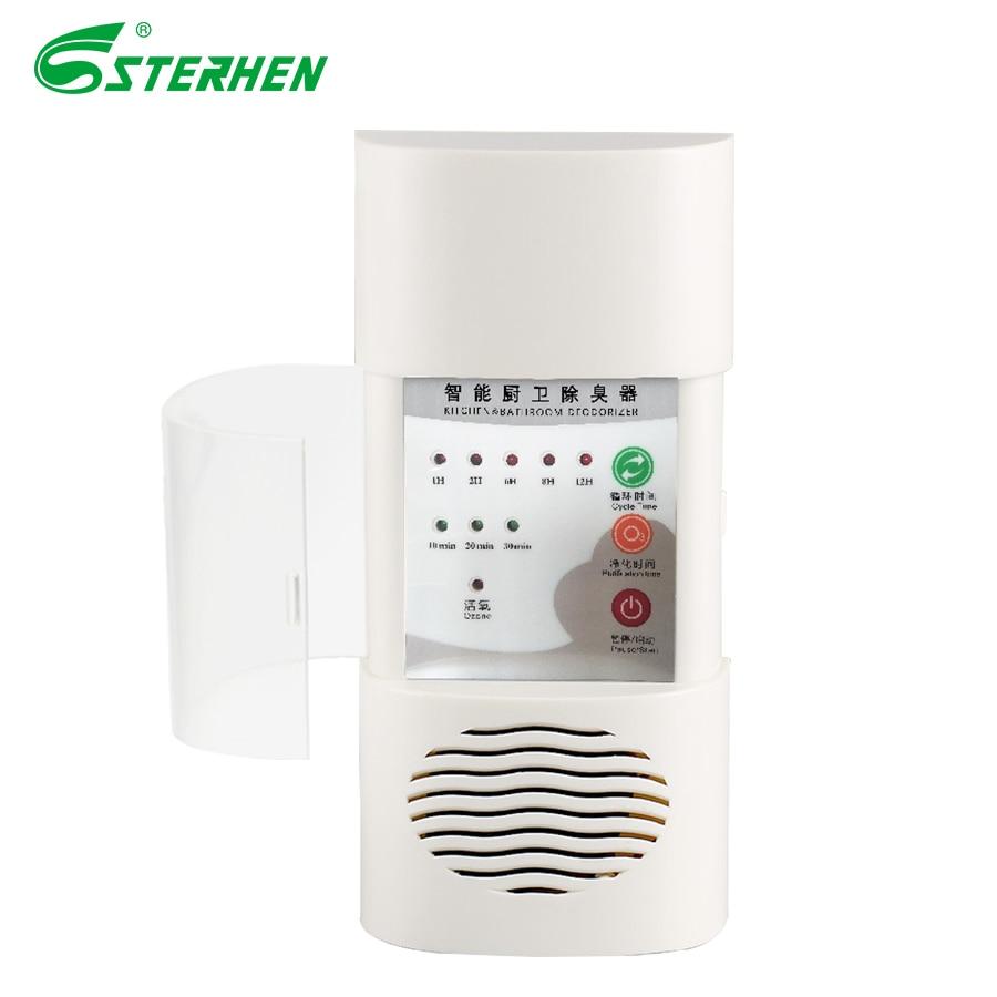 STERHEN Air Ozonizer Air Purifier Home Ozone Deodorizer Ozone Generator Sterilization Germicidal Filter Disinfection