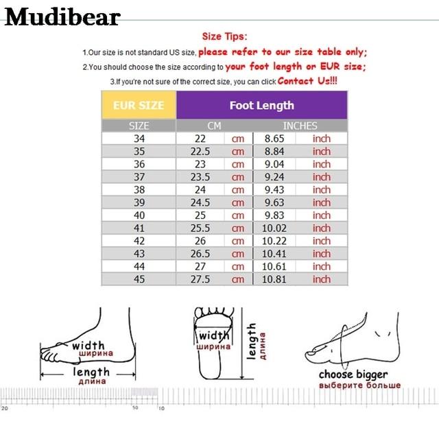 mudibear осенне зимняя новая стильная женская обувь флуоресцентная фотография