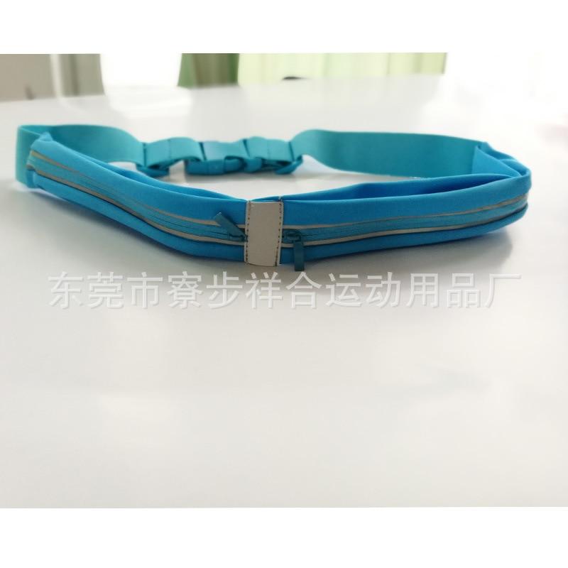 Double Pocket Lycra Hip Pocket Running Fitness Outdoor Sport Waist Bag Mobile Phone Waist Bag