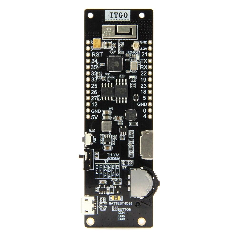 LILYGO®TTGO ESP32 WiFi Bluetooth 18650 soporte de batería módulo de asiento 2A fusible de 4 MB Flash SPI 4 MB Psram Procesador Intel Core™ i3-8100 3,6 Ghz 6 MB LGA 1151 BOX
