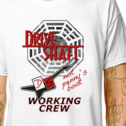T-shirt arbre d'entraînement perdu 100% t-shirts en coton (lazycarotte) dharma initiative swan série tv