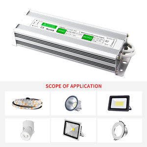 Image 5 - หม้อแปลงไฟฟ้า 110V 220V 12V 24 V 20W 30W 50W 80W IP67 กันน้ำ AC DC 12V 24 V 12 24 V โวลต์ LED DRIVER
