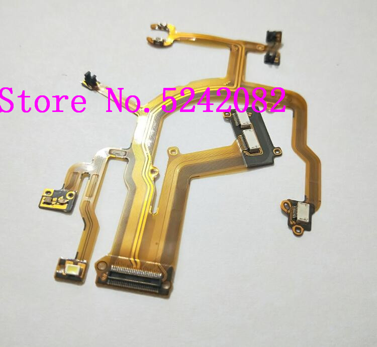 NEW Lens Main Flex Cable For Canon For PowerShot G10 G11 G12 Digital Camera Repair Part (With Socket)