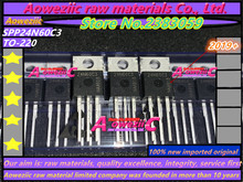 Aoweziic 2019+  100% new imported original  SPP24N60C3 24N60C3 TO 220 field effect MOS tube 600V 24A