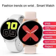 S2 s20 relógio inteligente esportes sg2 tela sensível ao toque completo ecg sg3 smartwatch homem mulher g5 bluetooths pulseira inteligente para android ios banda