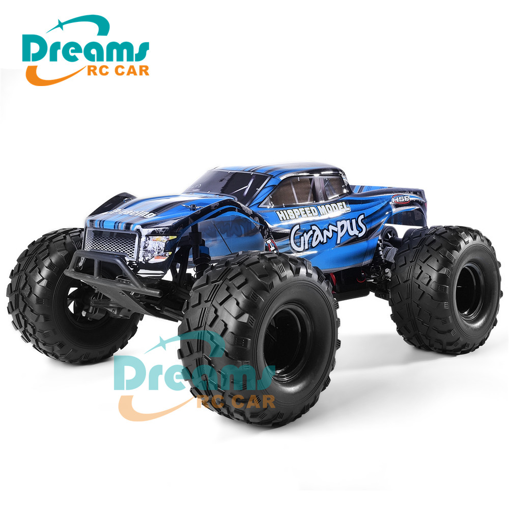 HSP <font><b>RC</b></font> <font><b>Car</b></font> <font><b>1/10</b></font> Scale Off Road Monster Truck 94601PRO Electric Power Brushless <font><b>Motor</b></font> Lipo Battery High Speed Hobby Vehicle Toys image