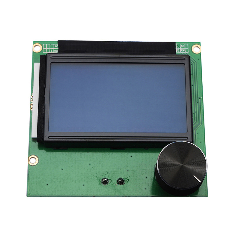 Controller <font><b>Ramps</b></font> 1.4 <font><b>Lcd</b></font> <font><b>12864</b></font> Display Blue Screen+Cable for Creality 3D S4 S5 3D Printer Parts image
