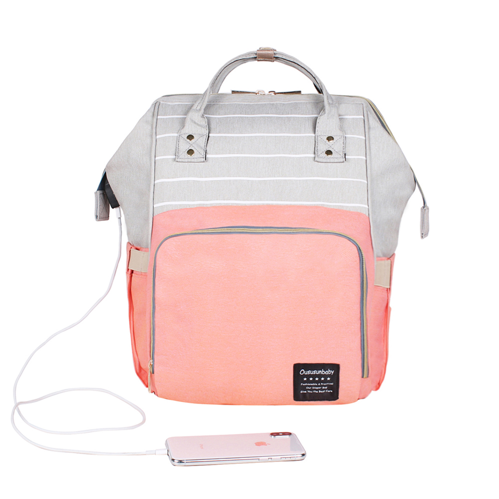 Pink Grey Mix USB