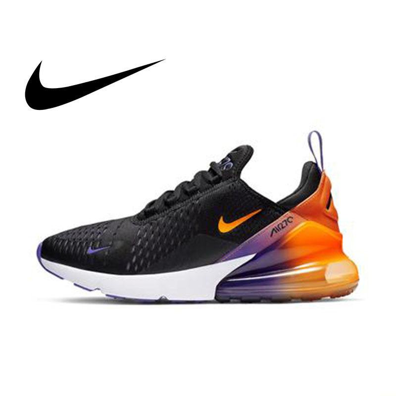 Original Authentic Nike Air Max 270 Men's Running Shoes Cozy Mesh Breathable Sneakers Athletic Designer Footwear 2019 New CN7077