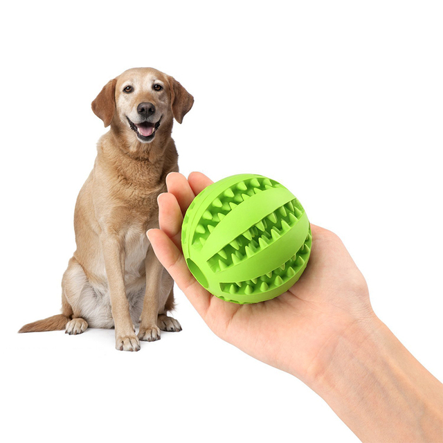 Stretch Rubber Interactive Feeding Ball 6