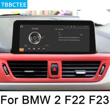 For BMW 2 Series F22 F23 2018~2019 EVO Car Multimedia player Audio Android GPS Navigation Convertible WiFi 3G 4G Bluetooth for bmw 2 series f22 f22 f23 2018 2019 evo car android radio gps multimedia player stereo hd screen navigation navi media