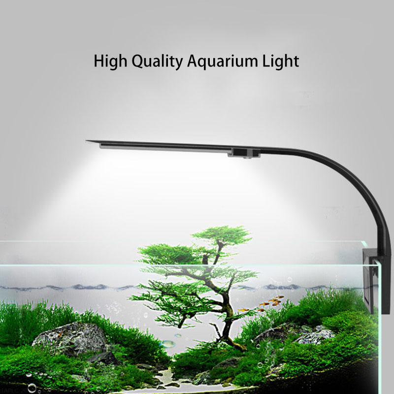 LED Aquarium Light Lighting Plants Grow Light 5W/10W Aquatic Plant Lighting Waterproof Clip-on Lamp For Fish Tank