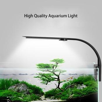 Светодиодный светильник для аквариума, светильник для выращивания растений 5 Вт/10 Вт освещение для водных растений светильник ing водонепрон...