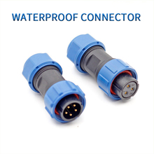 1pc SP17 Waterproof Connectors IP67 10A Aviation Plug Socket 2pin 3pin 5pin 7pin 9pin Electrical Cable Connector for New Enengy цены онлайн