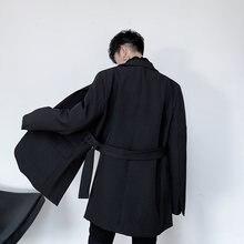 Готические блейзеры для мужчин вечерние весенние 2021 японские