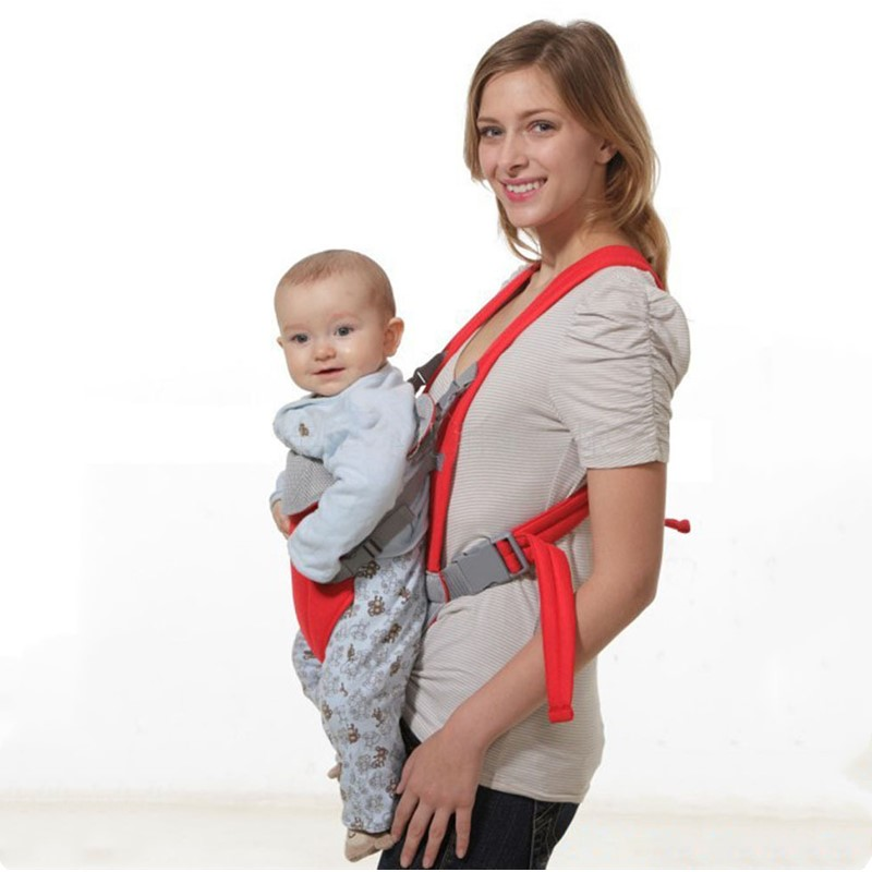 Newborn Baby Carrier Infant Hipseat Carrier Front Facing Kangaroo Toddler Sling Wrap Portable Breathable Adjustable Ergonomic
