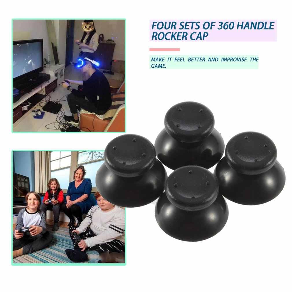 4 sztuk analogowy dżojstik 3D wymiana Thumb Stick antypoślizgowa nakładka przyciski dla Microsoft XBOX 360 Gamepad naprawa części