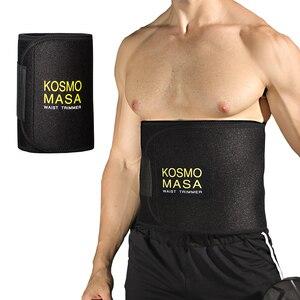 Image 1 - Taille Trimmer Voor Mannen Slimmer Zweet Riem Voor Vrouwen Taille Trainer Voor Gewichtsverlies Maag Wrap Band Body Cincher Vet buik Band