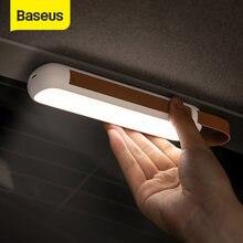 Baseus Solar Auto Notfall Licht Magnetische Taschenlampe LED Arbeit Licht USB Aufladbare Tragbare Suchscheinwerfer für Auto & Camping