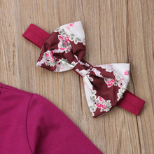 Kids Baby Girls Flower Gown Dress Clothes