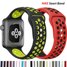 Sport Strap For Apple Watch band 44mm 40mm iwatch band 38mm 42mm silicone smartwatch belt bracelet apple watch series 6 se 5 4 3