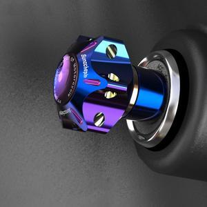 Studyset Universal CNC Key Bit Hexagon DIY Key Tip Key Head Cover for CF Moto-NK50 N1 N1S and other similar models
