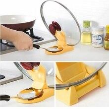 Multi-function spoon cover rack folding pot kitchen supplies