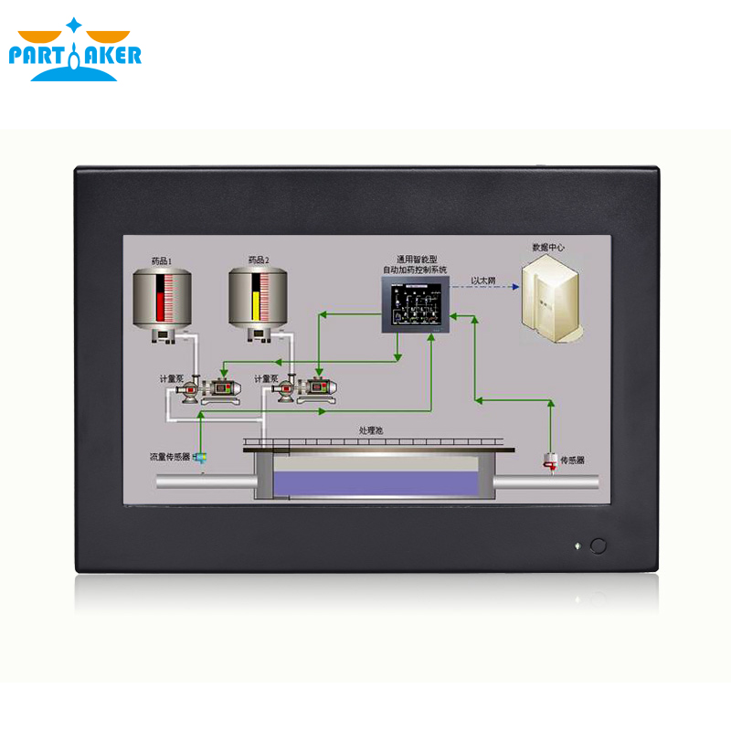 Partaker Z6 Touch Screen Panel PC 10.1 Inch With Celeron J1800 J1900 3855U OEM All In One PC Intel Core I5 I7 Computer