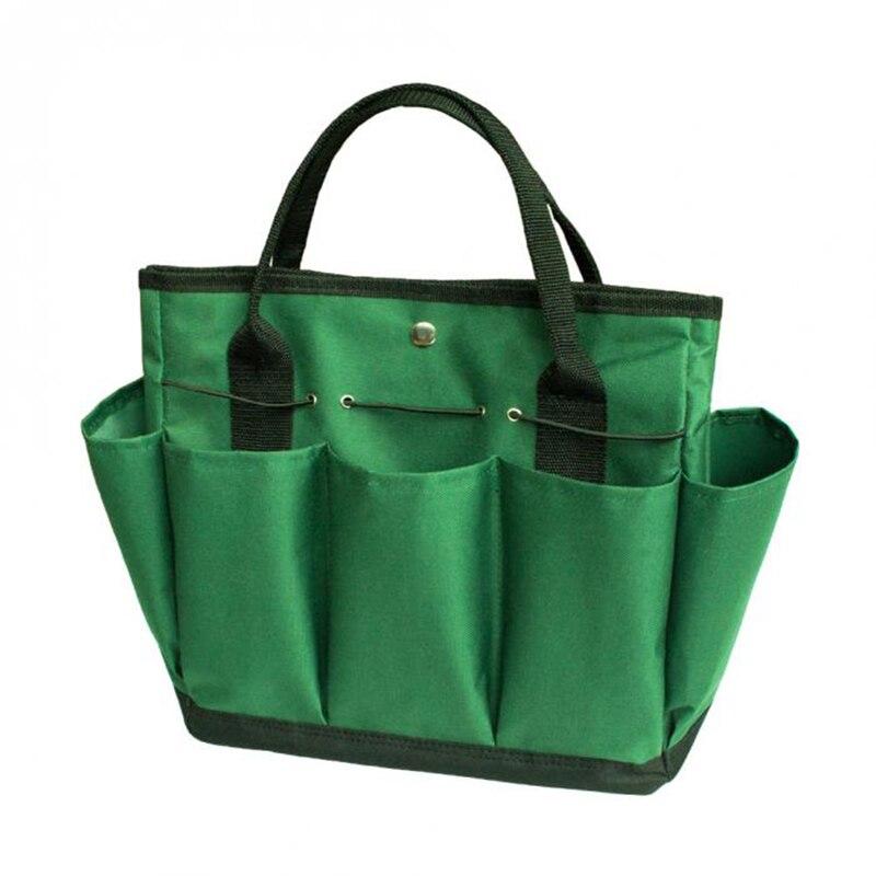 EASY-Garden Tool Bag Gardening Tool Storage Holder Oxford Bags Organizer Tote Lawn Yard Carrier Ali88