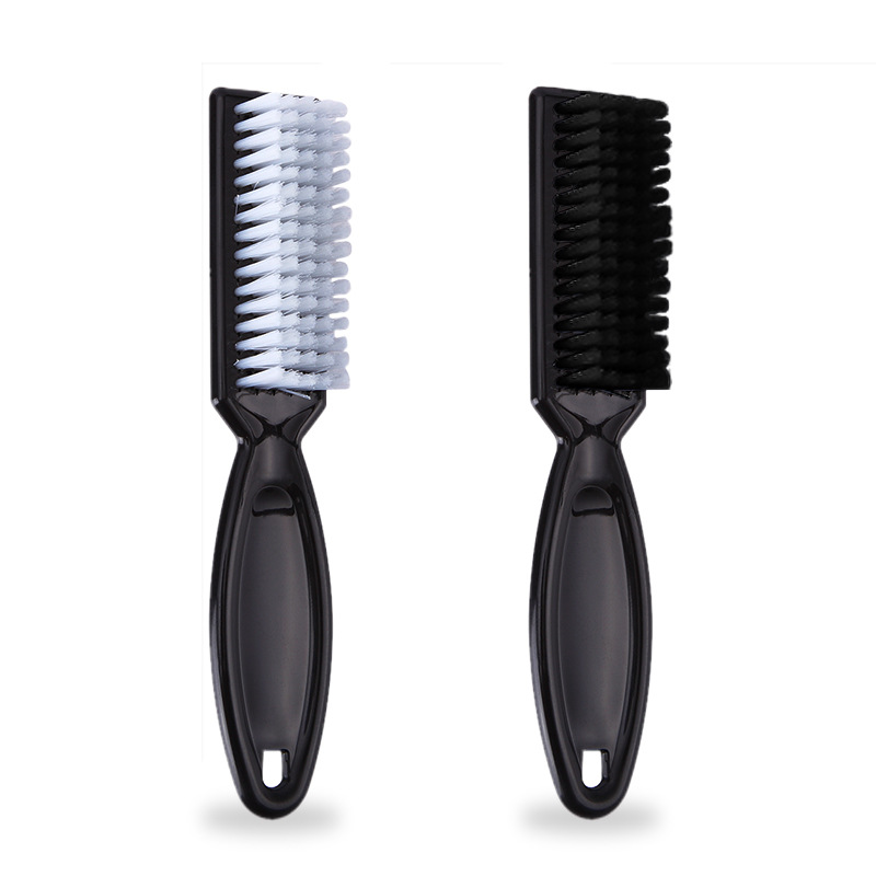Plastic Handle Hairdressing Soft Hair Cleaning Brush Barber Neck Duster Broken Hair Remove Comb Hair Styling Tools