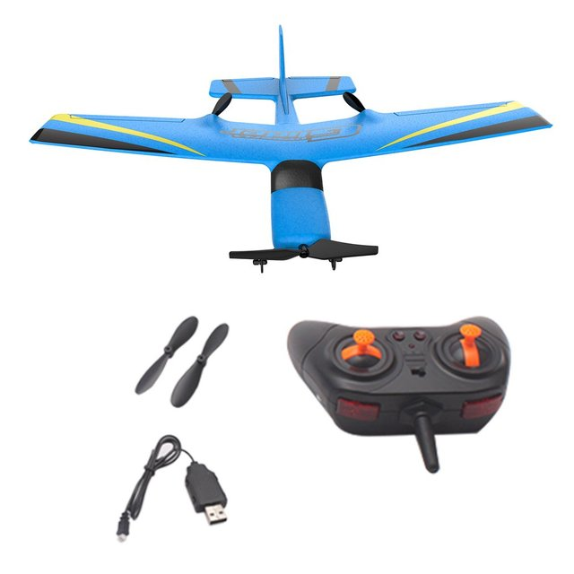 Z50 2.4G 2CH 350mm Micro Wingspan Remote Control RC Glider Airplane Plane Fixed Wing EPP Drone with Built-in Gyro for Kids 6