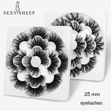 SEXYSHEEP 4/7/8 pairs von 3D nerz wimpern 25mm natürliche lange falsche wimpern volumen falsche wimpern make-up wimpern verlängerung