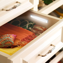 Motion Sensor LED Closet Light Wireless Under Cabinet Light USB Rechargeable Lights For Kitchen Wardrobe Closets Cupboard