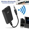 2 em 1 bluetooth 5.0 transmissor receptor tv pc carro alto-falante 3.5mm aux alta fidelidade música adaptador de áudio/fones de ouvido carro/casa dispositivo estéreo