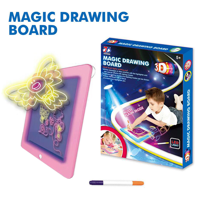Deal¡Toy Lighting Tablet Sketchpad Graffiti Painted Fluorescent Creative Magic Colorful CHILDREN