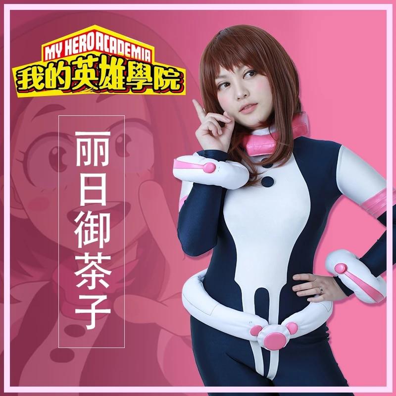 Ochako Uraraka My Hero Academia Jumpsuit Bodysuit Women Cosplay Costume