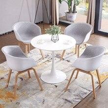 Chair Kitchen Furniture Interior-Stool-Bar Plastic Discuss Breakfast Meeting